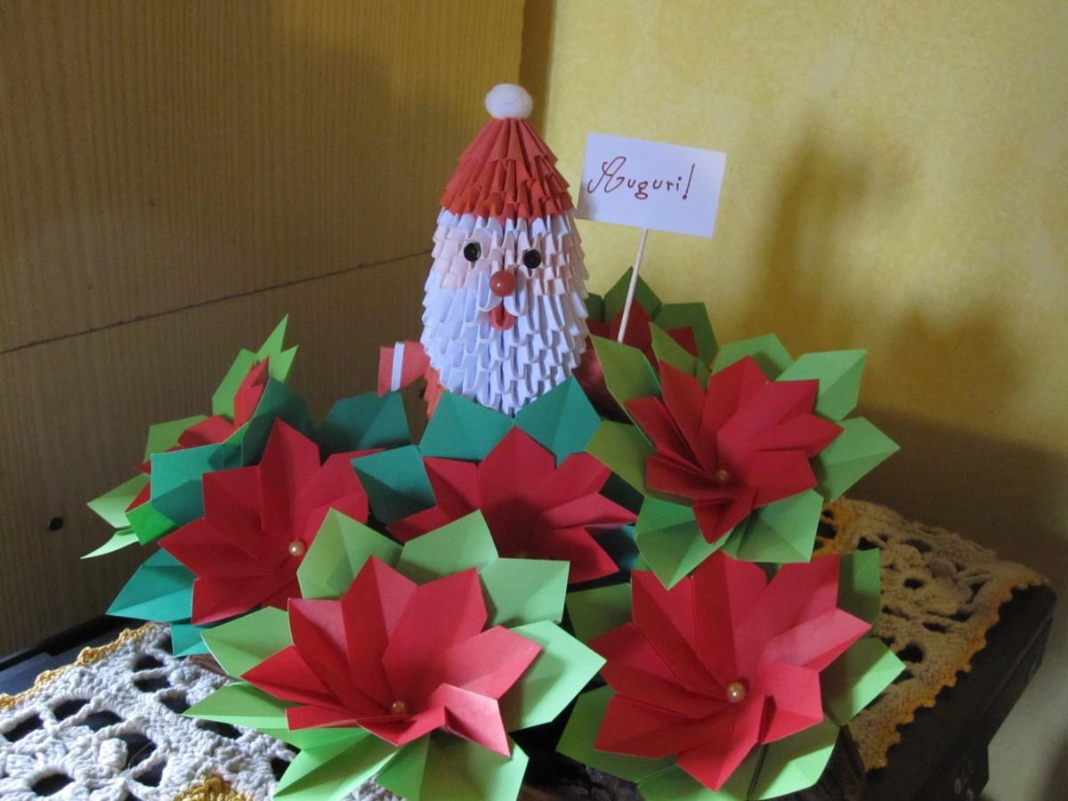 Origami maniacs d santa claus