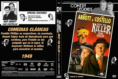 Abbott y Costello Contra el Asesino | 1949 |  Abbott and Costello Meet the Killer, Boris Karloff