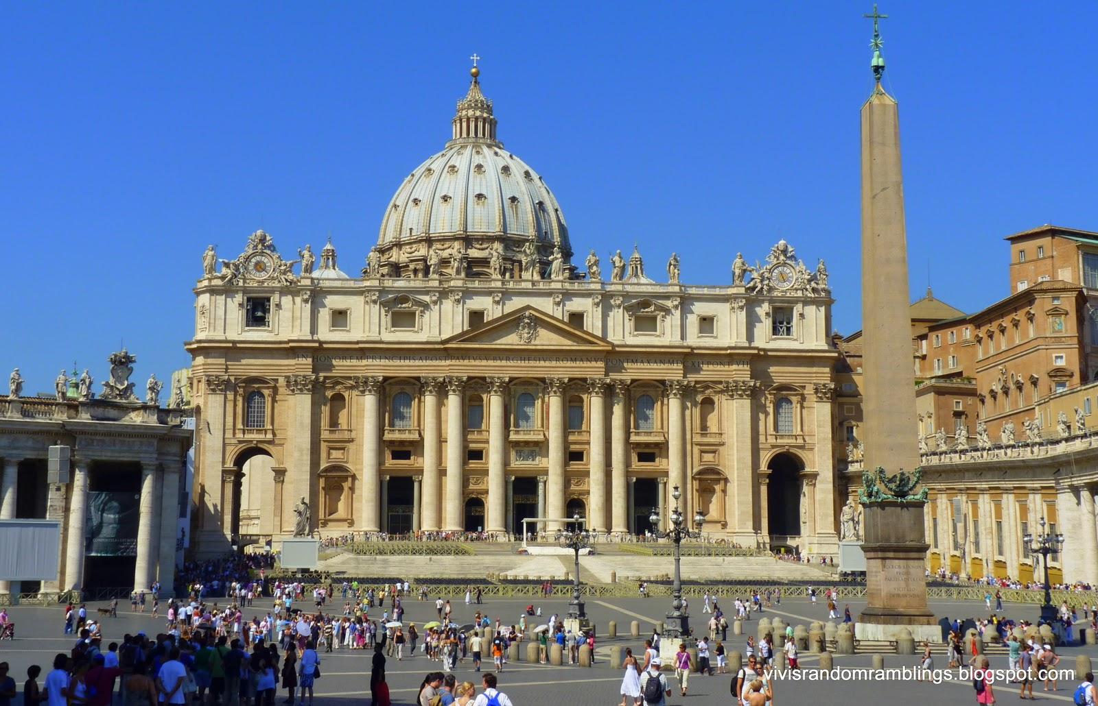 St Peter's Basilica, Vatican City, Vatican