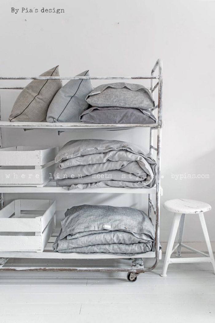 BY PIA´S Design linen for your home  - photo Paulina Arcklin