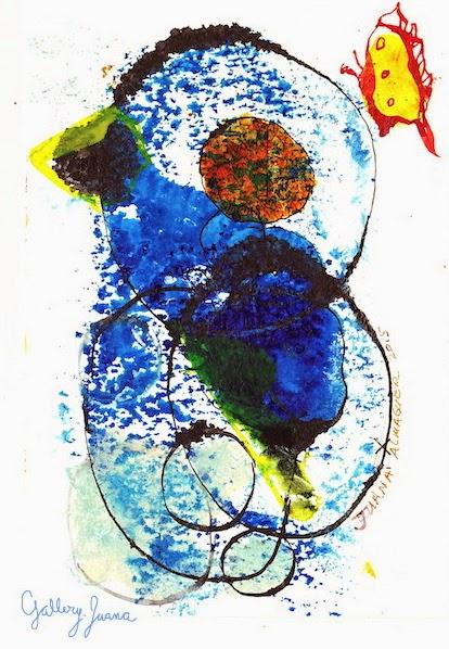 Abstract Bird, gallery juana