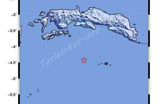 Gempa Bumi Maluku 8 Oktober 2012