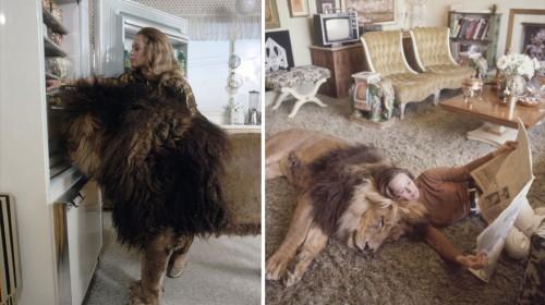 Αυτή η οικογένεια ζούσε με ένα πραγματικό Λιοντάρι τη δεκαετία του 1970