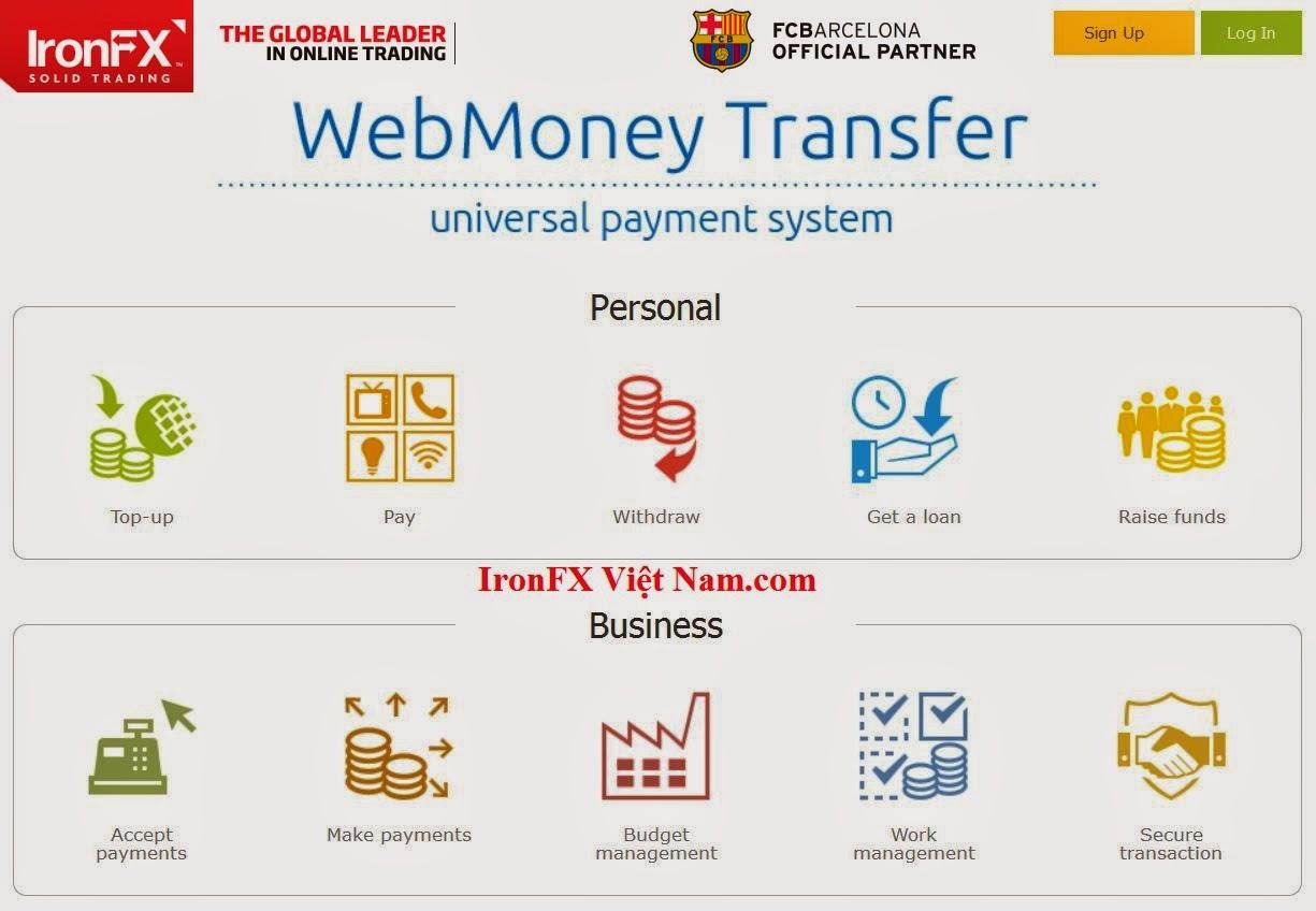ví điện tử webmoney