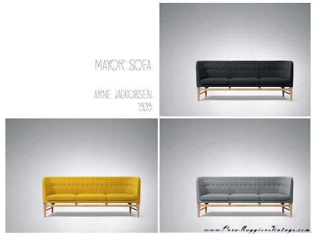 Arne Jackobsen Mayor sofa &Tradition