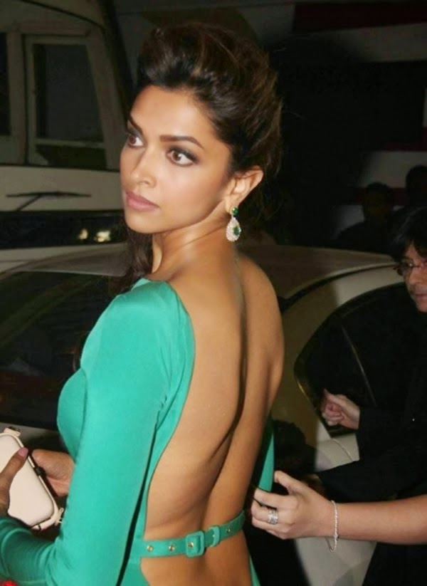 Deepika Padukone Hot in backless dress photo