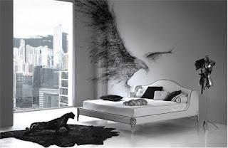 cama de casal branca