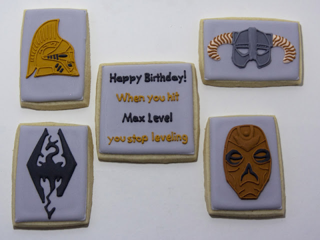 skyrim birthday cookies