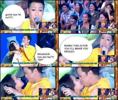 the humor that is vice ganda Aquino to vice ganda: i have to skip necking by:  using his trademark sarcasm and deadpan humor, vice ganda managed to get president aquino to sing a few lines.