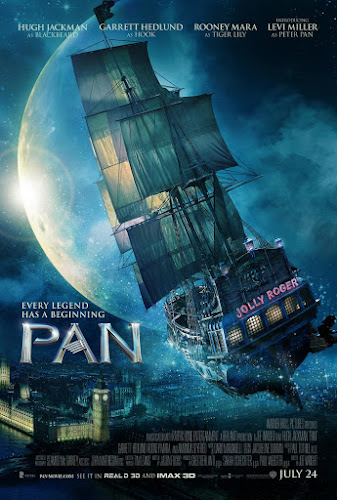Pan (BRRip 1080p Dual Latino / Ingles) (2015)