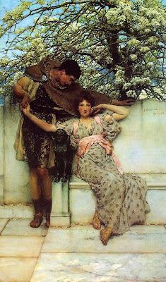 Alma Tadema, Mónica López Bordón, Lope de Vega, Poesía, poema del día