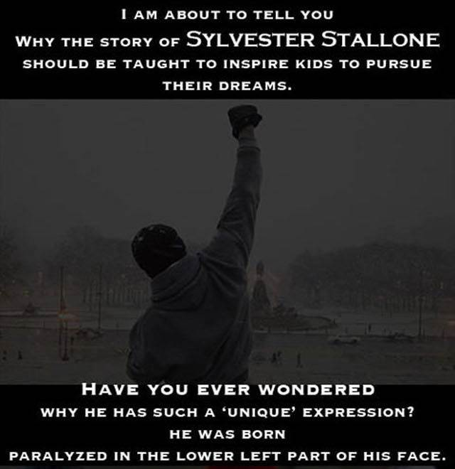 kisah inspirasi sylvester stallone