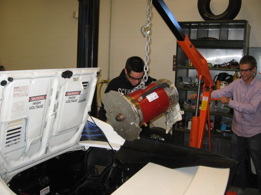 Topsail High School Electric Vehicle Blog October 2011
