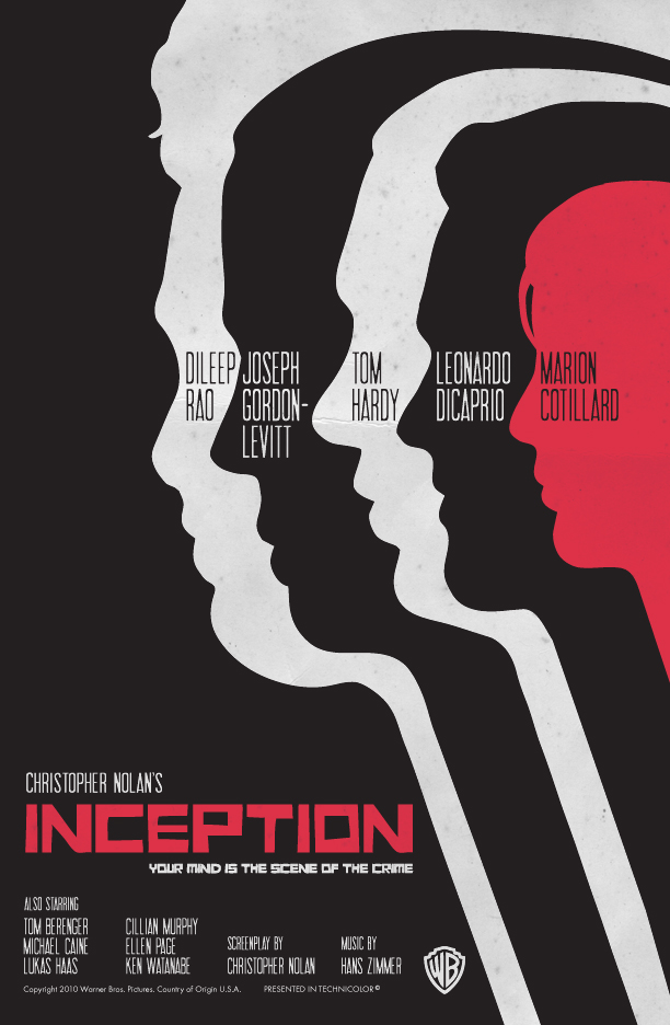 The Geeky Nerfherder: Movie Poster Art: Inception (2010)