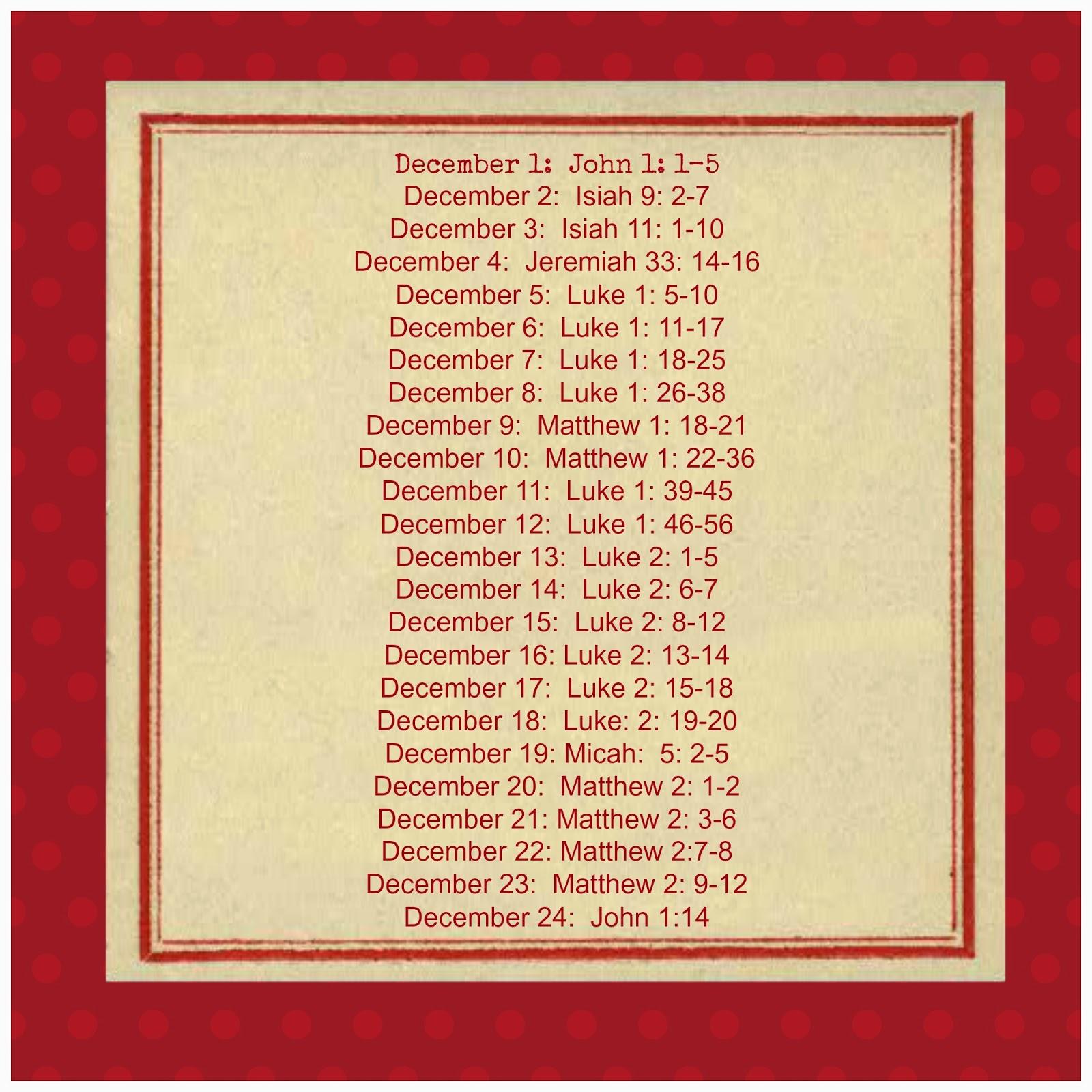 Christmas Bible Verses Christmas bible verses