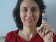 Le doigt bleu ;)