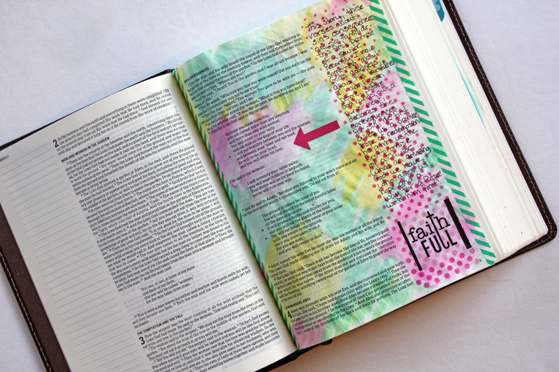 bible journaling how to get started