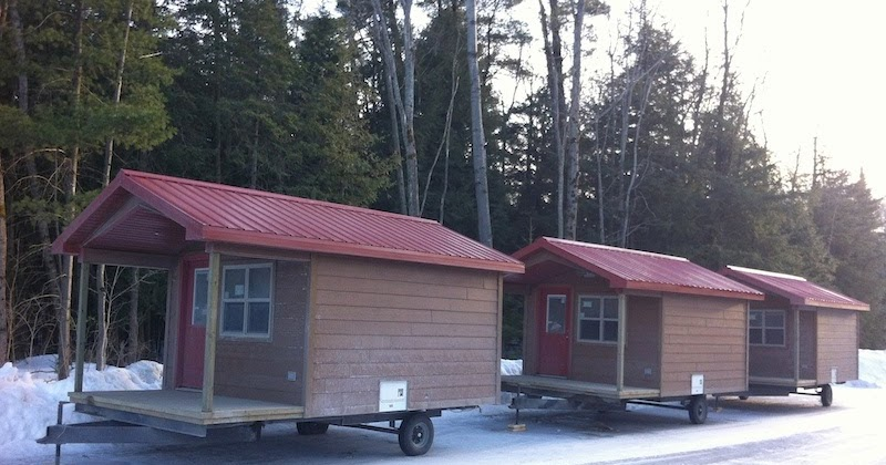 Cabins in the Parking Lot