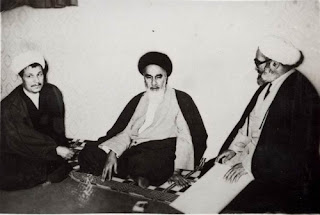 Khomeini and Rafsanjani