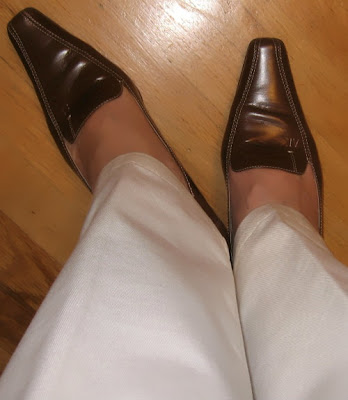 Anne Klein brown shoes