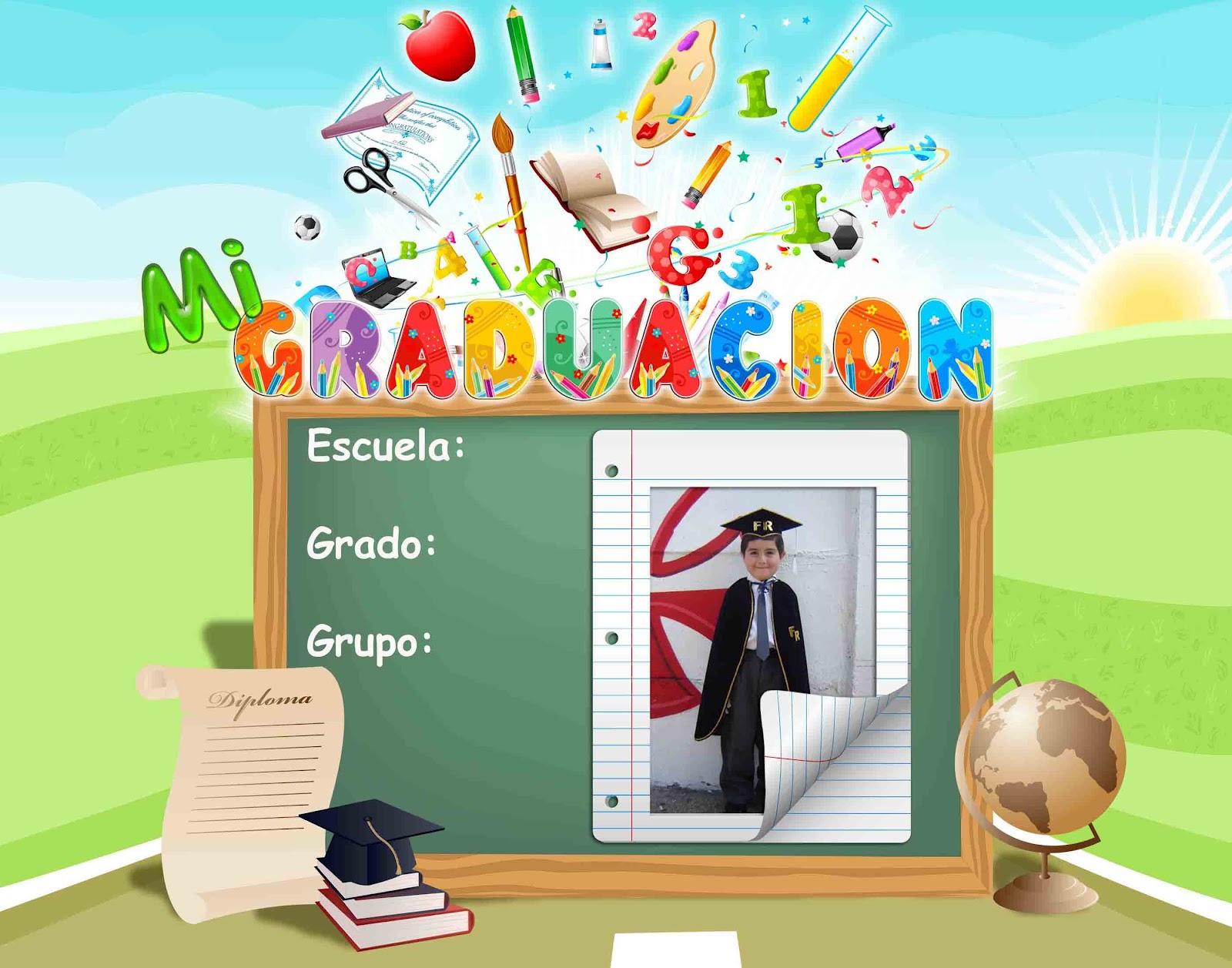 Plantilla para graduación del Kinder - **El blog del diseñador ...