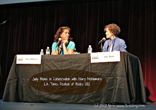 """A Conversation with Judy Blume"" LA Times Festival of Books"
