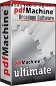 تحميل برنامج BroadGun pdfMachine Ultimate 14.59