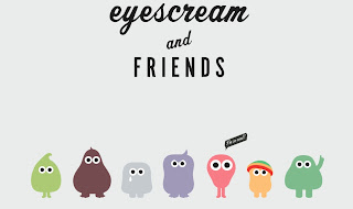 monstres de gelat gelateria Eyescream and friends