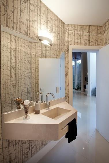 decoracao do lavabo:Ateliê Revestimentos: 10 sugestões para decorar banheiros e lavabos