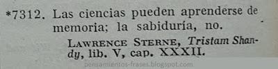 frases de Laurence Sterne