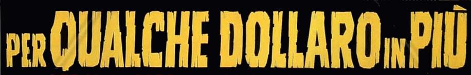 Logo del título: La muerte tenía un precio en italiano