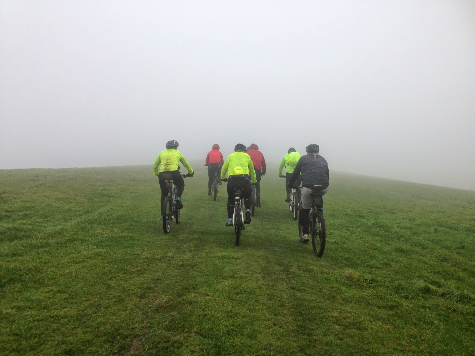 BTRS Mountain Bike Brighton to Eastbourne - South Downs Way