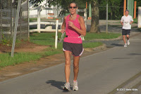 The fastest master woman in the 2012 Run With The Moose 5K, Sandra Canada (9th, 26:11).