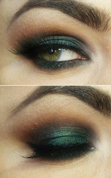 10 Gorgeous Smokey Eyes Makeup Tutorials / Daily Fash For Fashion