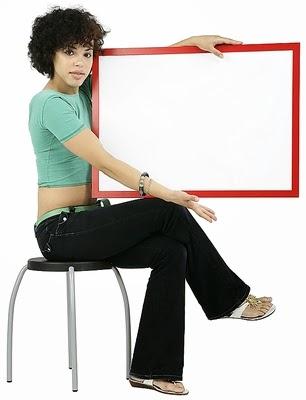 Pinta marcos para colocar fotos