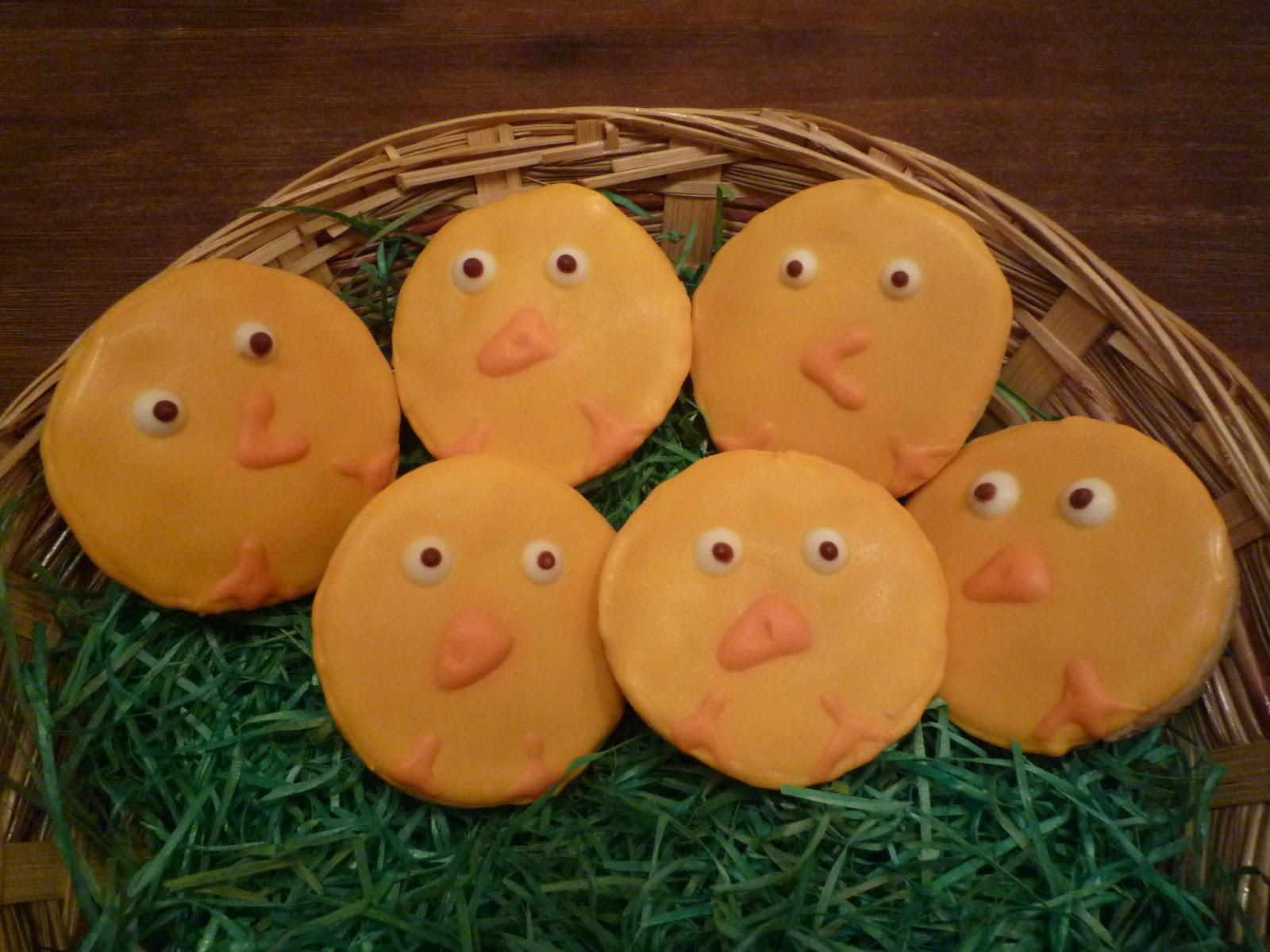 Kekse, Küken-Kekse, Kükenkekse, Ostern, Royal Icing