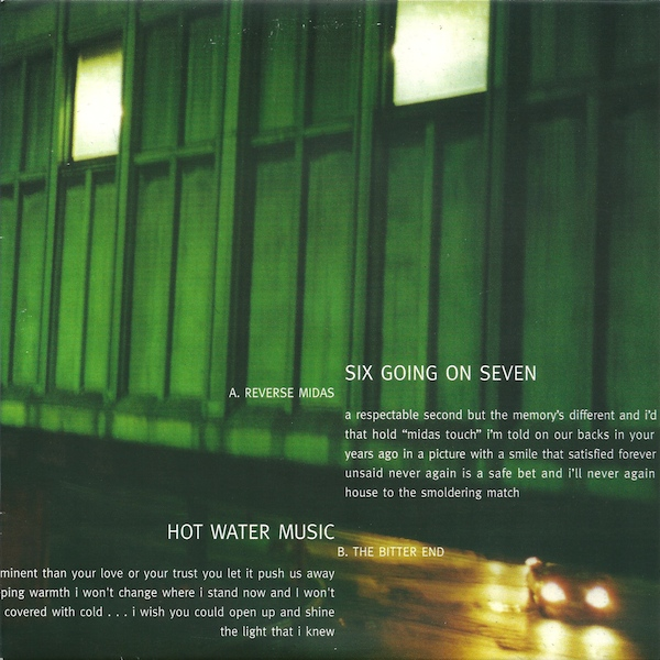Hot Water Music / Rydell - Hot Water Music / Rydell
