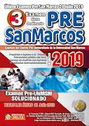 Examenes Pre y Admisión San Marcos