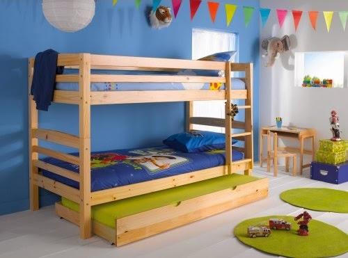 Beliches triplos para economizar espa o decora o e ideias - Conforama harry ...