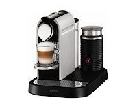 Máy pha cafe Nespresso Krups XN7102 Frosted Aluminium