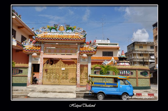 haadyai, hatyai, thailand, south thailand, songtheaw, temple, backpacking thailand, kota hatyai