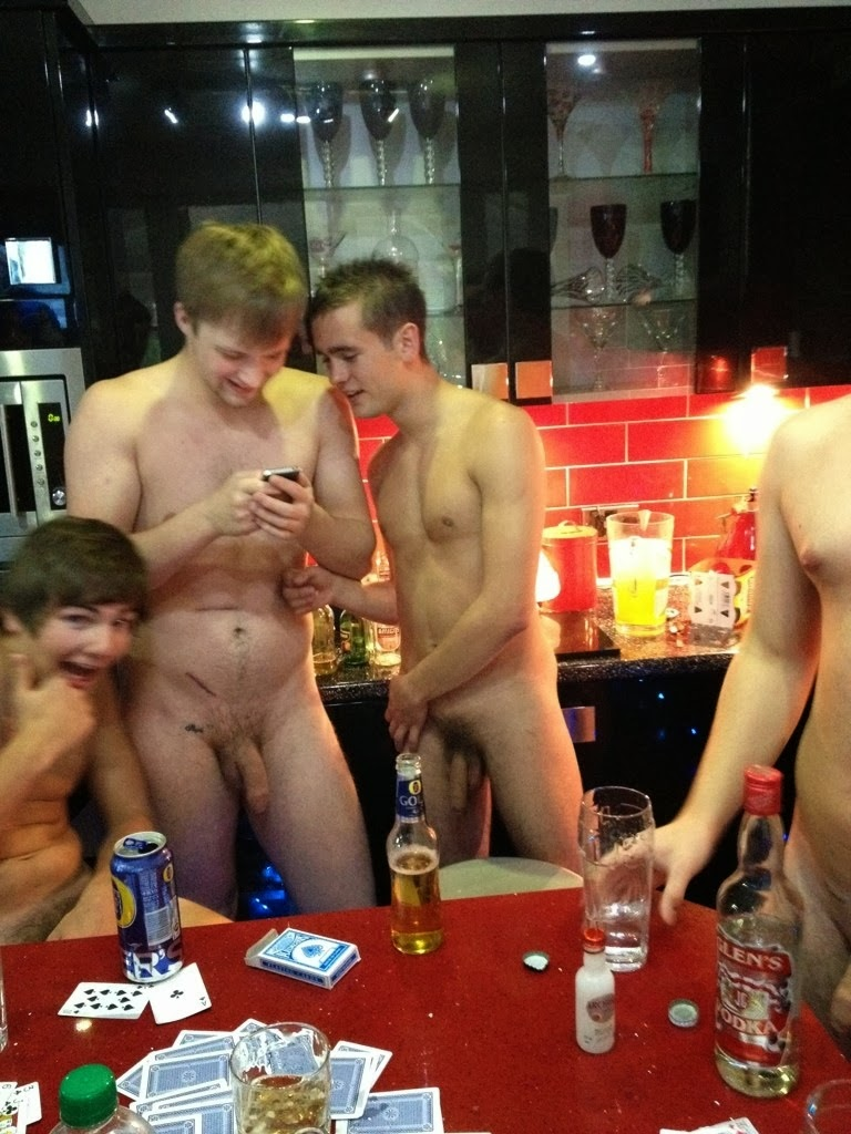 Straight guys strip poker gay porn movie