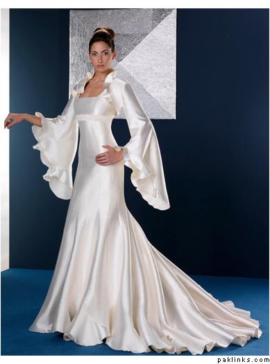 style basha arabic bridal wedding dress style 2011