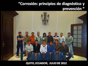 QUITO, ECUADOR, JULIO 2012