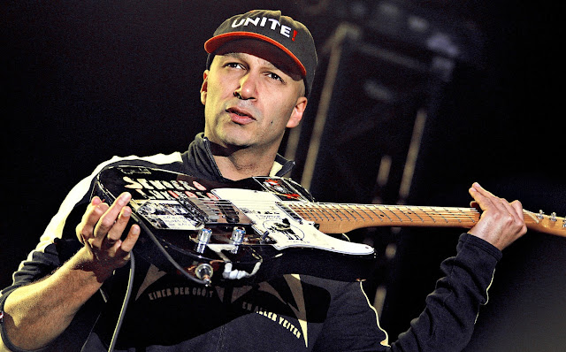audioslave,tom morello, electric guitar