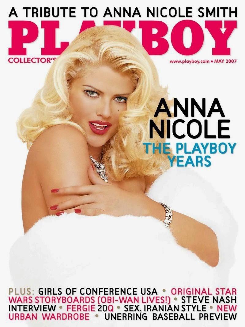 Anna Nicole Smith naked photos - Playboy