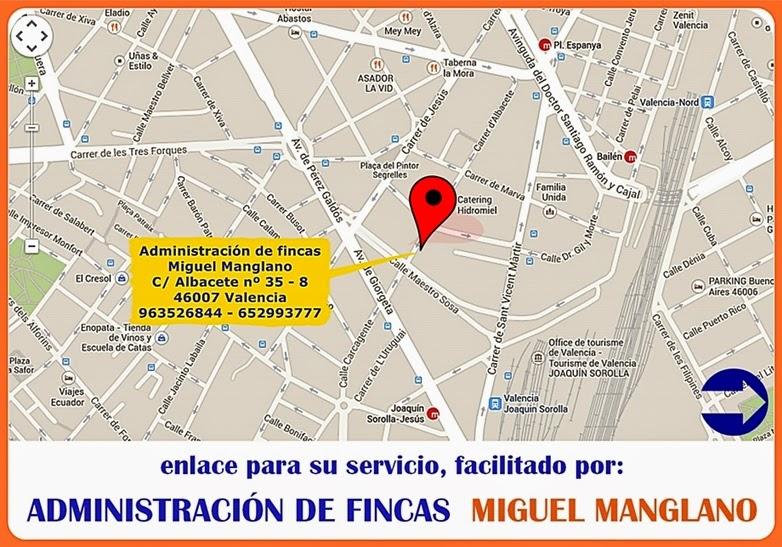 Como llegar administrador de fincas miguel manglano for Administracion de fincas torrevieja