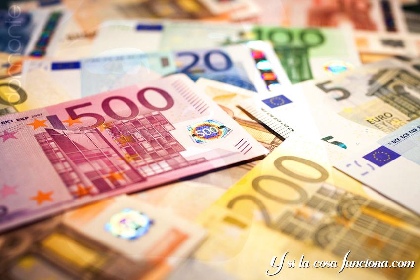 Portada Billetes Euro Dinero Blog