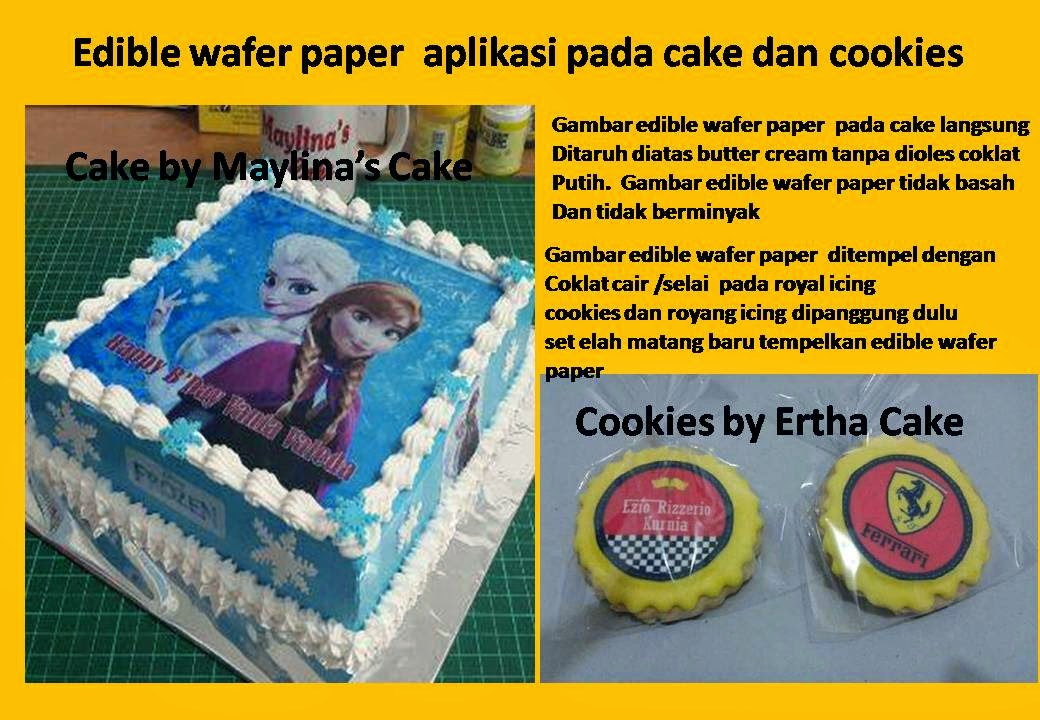 edible wafer paper Our 3d edible unicorn set of flowers is made out of rice wafer paper to be used as 3d cake toppers and cake decoration in general we only use high-quality rice wafer paper, made from potato starch and sugar-free.