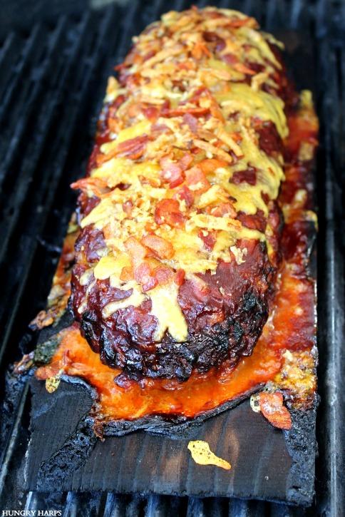 Hungry Harps: Cedar Plank BBQ Western Bacon Meatloaf